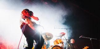 Triggerfinger, Ruben Block, Mario Goossens & Paul Van Bruystegem, Tvornica Kulture, 2017, Marko Alpner Photography