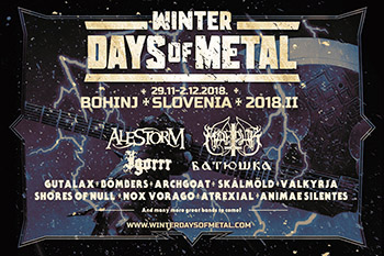 Winter Days of Metal 2018.2