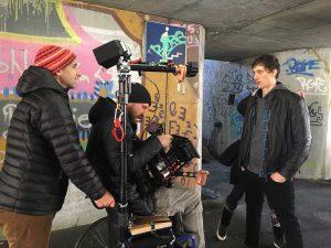 Happy Ol´ McWasel - Snemanje spota