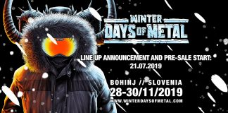 winter days of metal 2020 banner